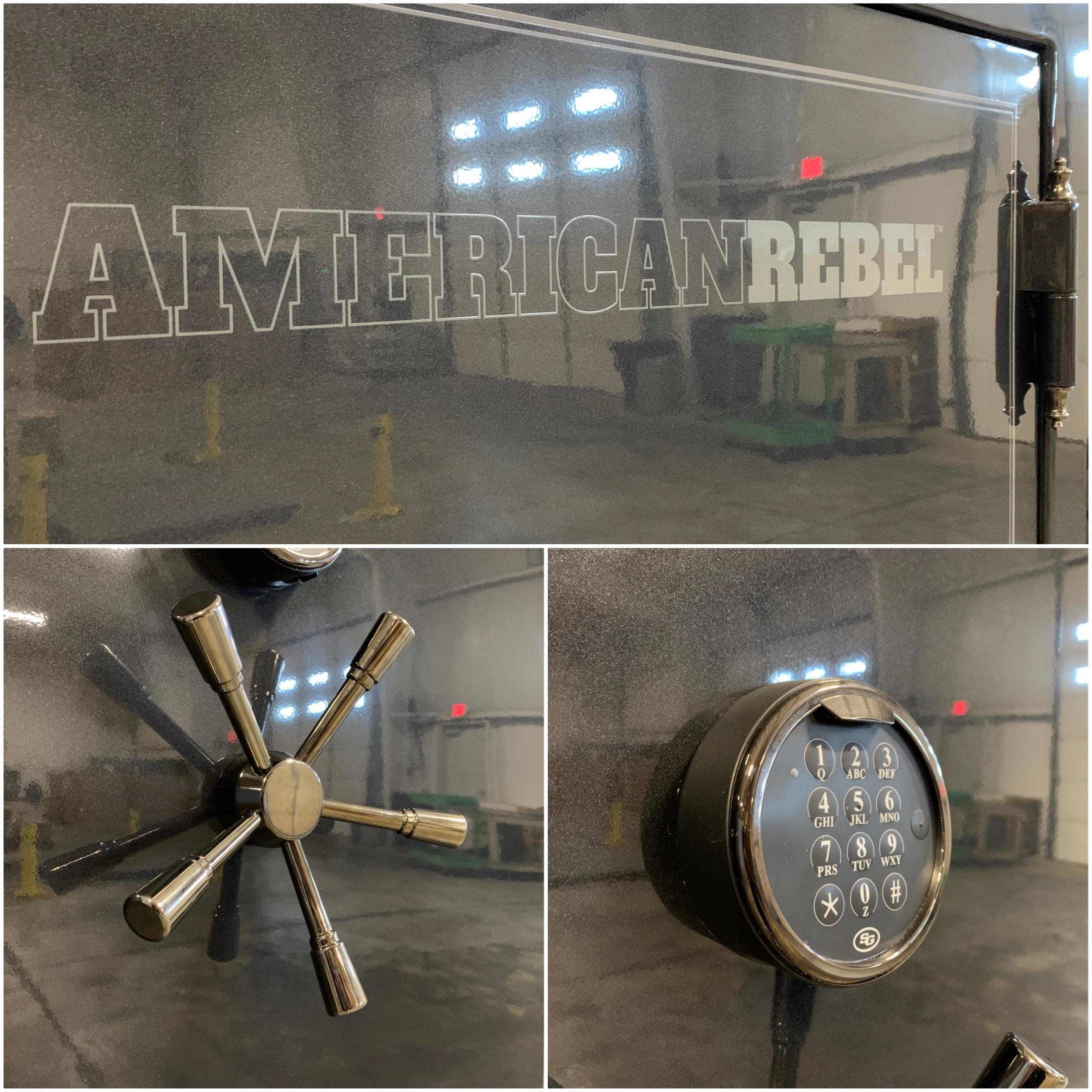 American Rebel Gun Safe Lock and Dial